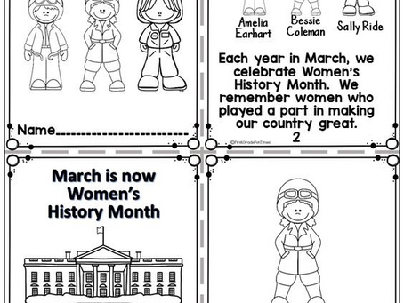 ASA Books Is Still Celebrating  Women's History Month: March 2021