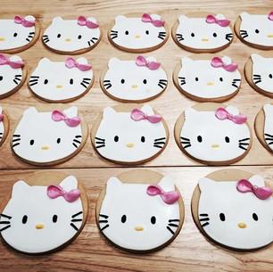 HELLO kitty. 🎀 #sugarcookies #homebaked