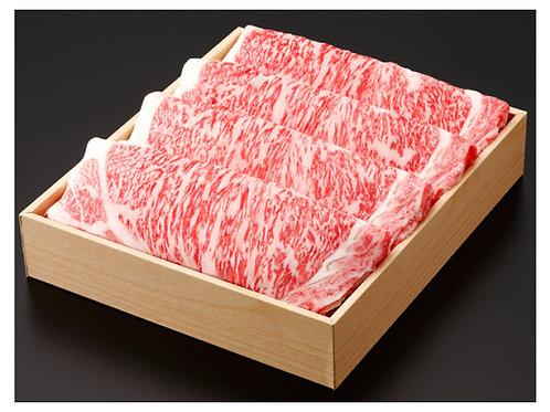 期間限定セール!【特撰!】黒毛和牛(リブロース) すき焼 1000g