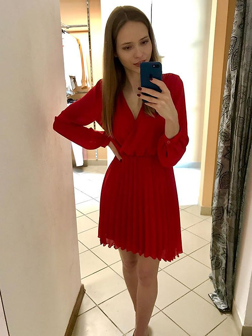 Sukienka Plisy