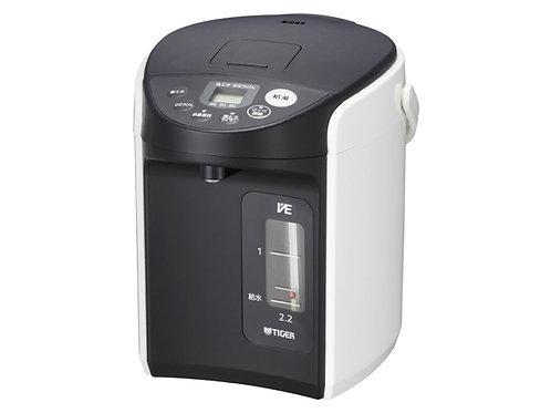 タイガー PIQ-A220W VE電気まほうびん 「とく子さん」 2.15L ホワイト