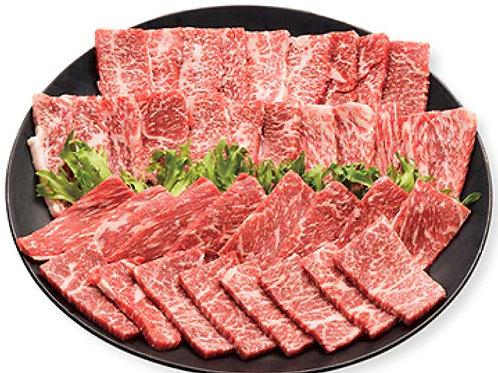 【お肉を食べよう】黒毛和牛A5こく旨バラ焼き肉セット500g