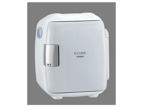 ツインバード 5.5L 2電源式コンパクト電子保冷保温ボックス「D-CUBE S」 グレー HR-DB06GY