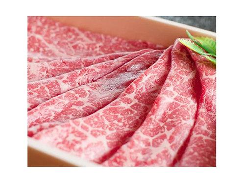 【お肉を食べよう】黒毛和牛特撰もも肉あっさりスライス 600g