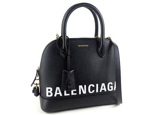 BALENCIAGA [バレンシアガ] 2way ハンド バッグ VILLE トップハンドル S 518873