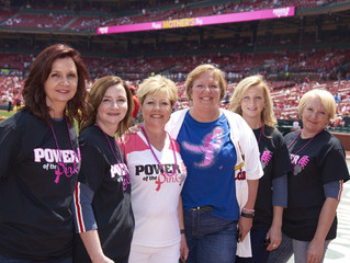 Power of the Pink Day at the Ballpark