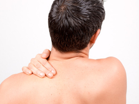 Do you have Chronic pain on upper back and neck?