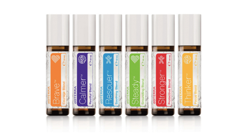Kids Collection -6 Ready to use essential oil blends.