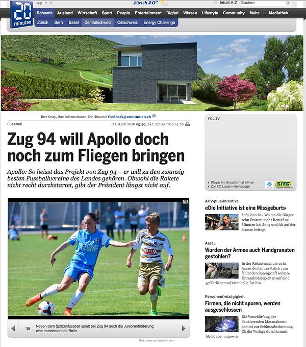 Publikation Zug 94 Fotos: soniabellini.com