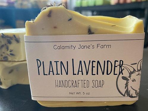 Plain Lavender Soap with Goats Milk