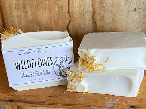 Wildflower Soap with Goats Milk