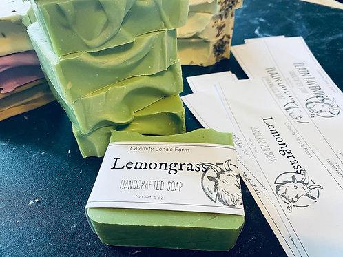 Lemongrass Soap with Goat's Milk