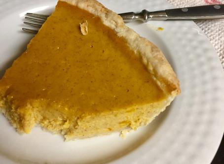 Pumpkin or Squash Pie (my favorite)