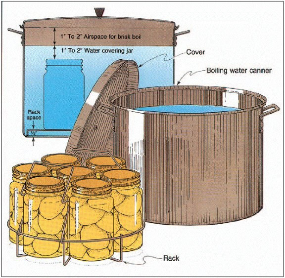 boiling water bath canning pic