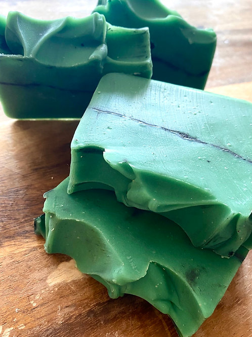 Green Magic Soap with Goats Milk