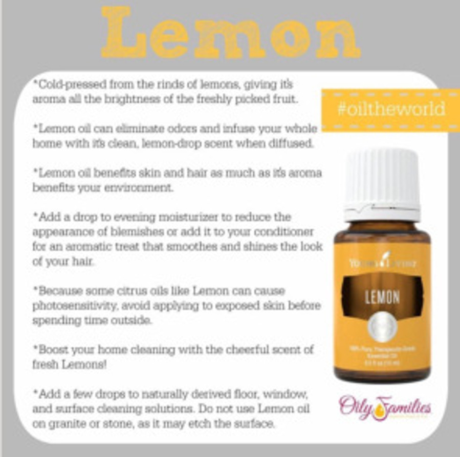 lemon eo instead of bleach