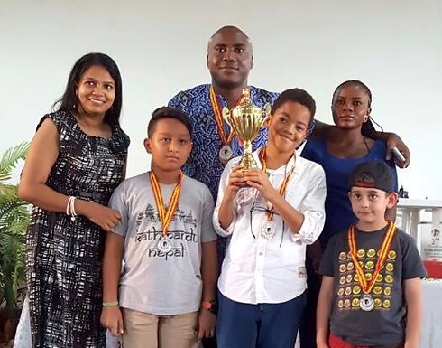 Student Places 2nd in Chess Tournament