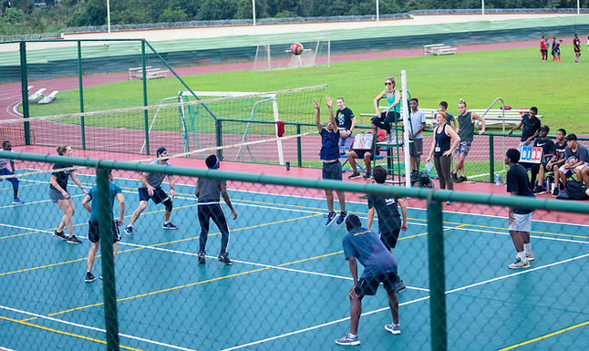 Student-Staff Volleyball Match