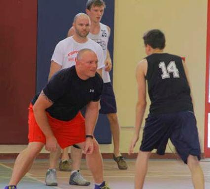 Staff Student Basketball Game