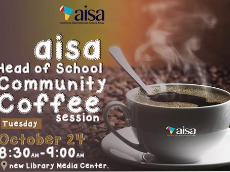 Head of School Community Coffee