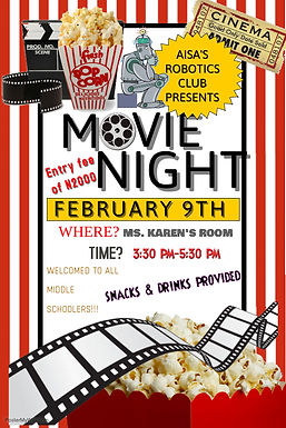 Bytes 'n' Bolts Movie Night