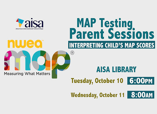 Map Testing Parent Sessions