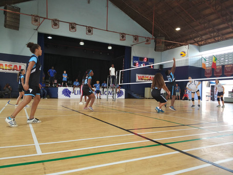 Girls Volleyball Wins 3rd at WAISAL