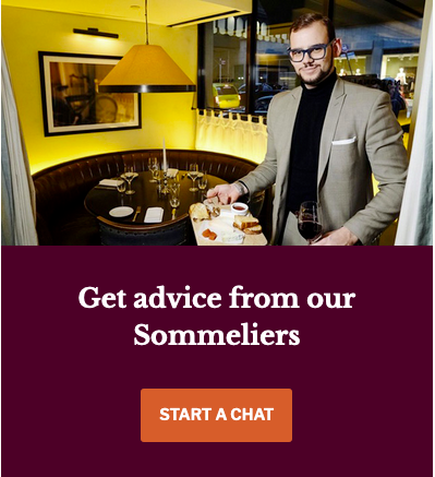 Niccollo, one of our top sommeliers, ready to help you find the perfect bottle of wine for you on Yahyn.