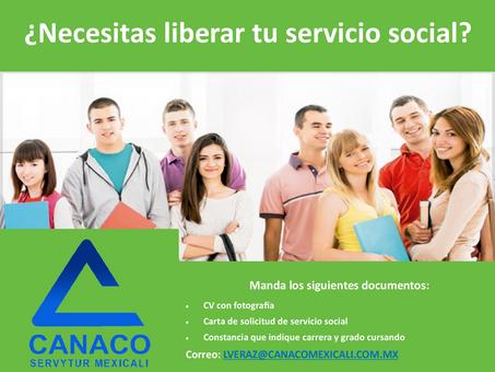 ¿Necesitas librear tu servicio social?