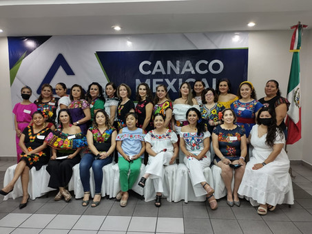Mujeres empresarias CANACO Mexicali