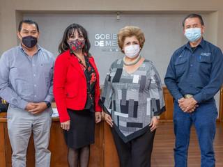 Reunión de acercamiento con la Alcaldesa de Mexicali Mtra. Norma Bustamante.