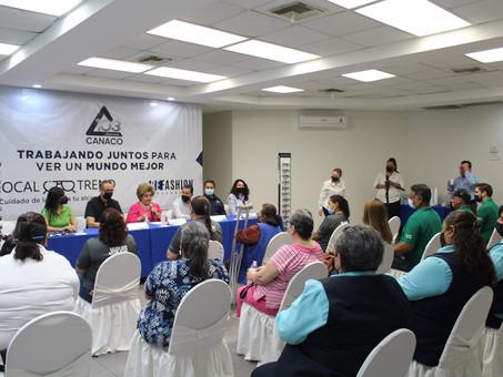 Entrega de lentes Bifocales CANACO Mexicali.