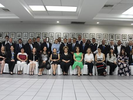 Acto protocolario de colocación de la fotografía de expresidente CANACO Mexicali.