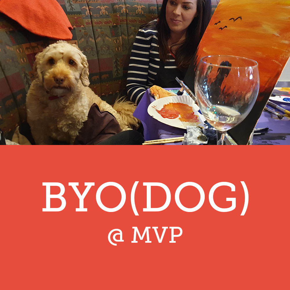 Paint by the Pints - BYODog - March Event