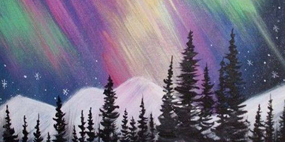 Paint by the Pints - Winter Nights