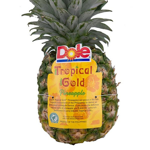 Dole 'Tropical Gold' Costa Rican Pineapple 1 ct.
