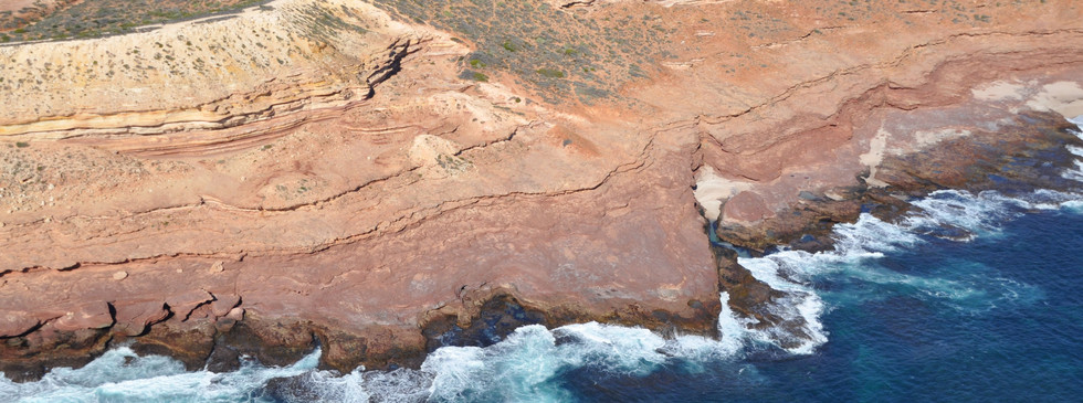 Kalbarri coastal cliffs