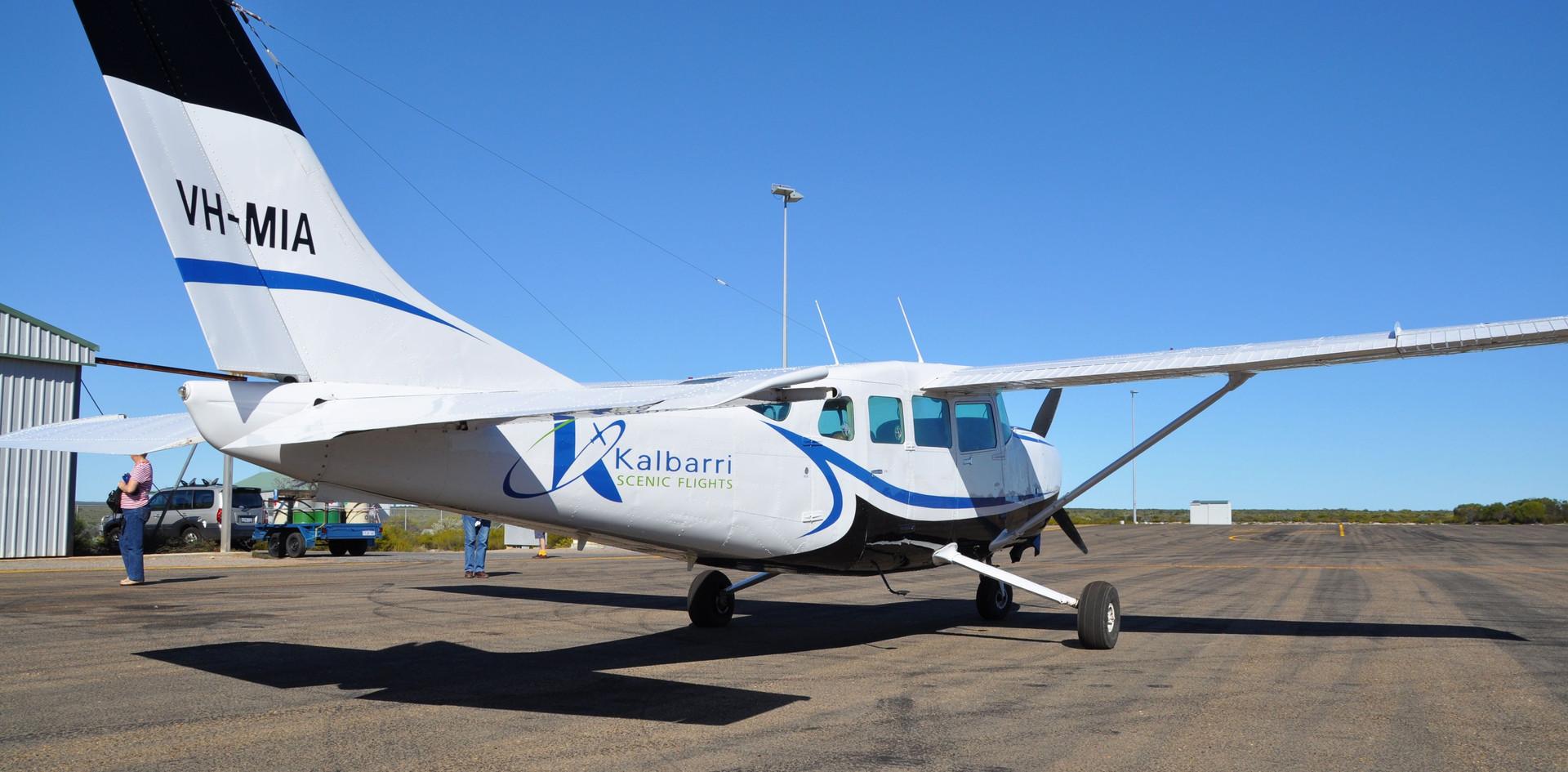 Nationwest Aviation and Kalbarri scenic flights Cessna 207