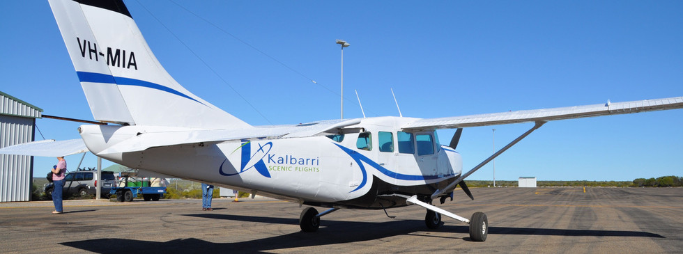 Nationwest Aviation and Kalbarri scenic flights Cessna 207