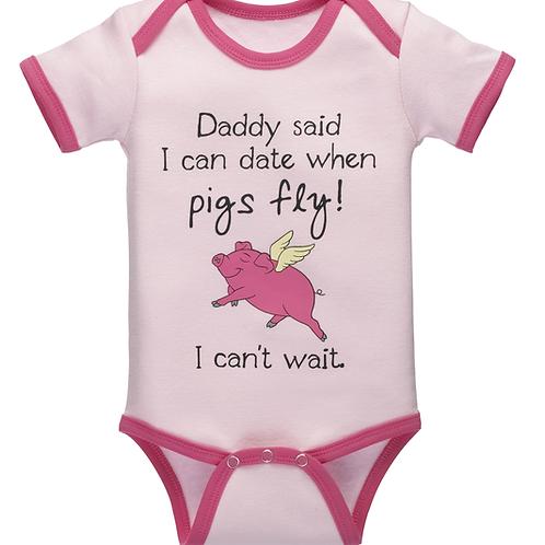 When Pigs Fly Onesie