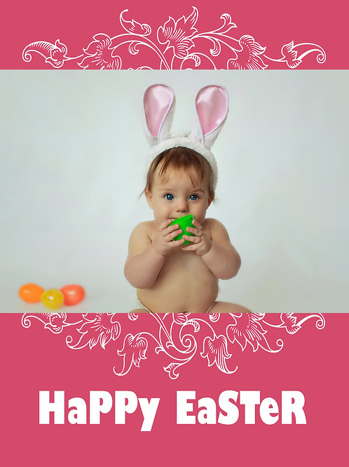 Loopy Garden 4 Pack Easter Cards