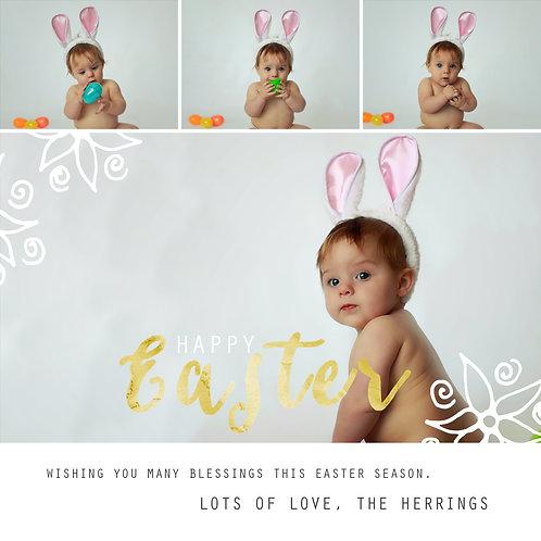 Easter Splash 4 Pack Easter Cards