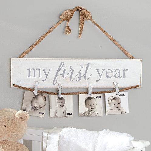 My First Year Photo Holder