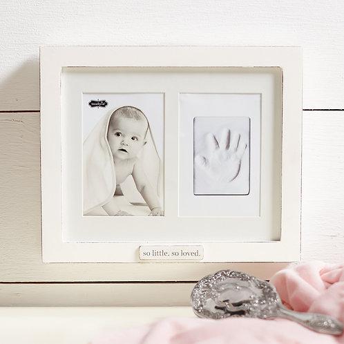 Handprint Impression Shadow Box Frame