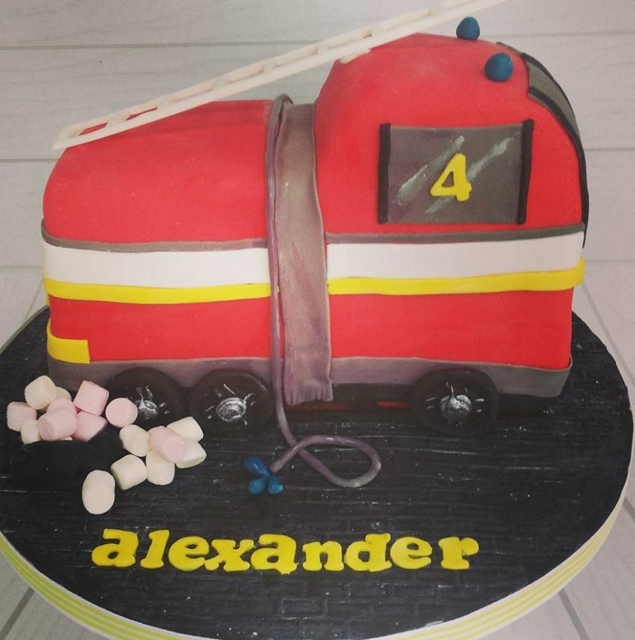Fire Brigade Cake