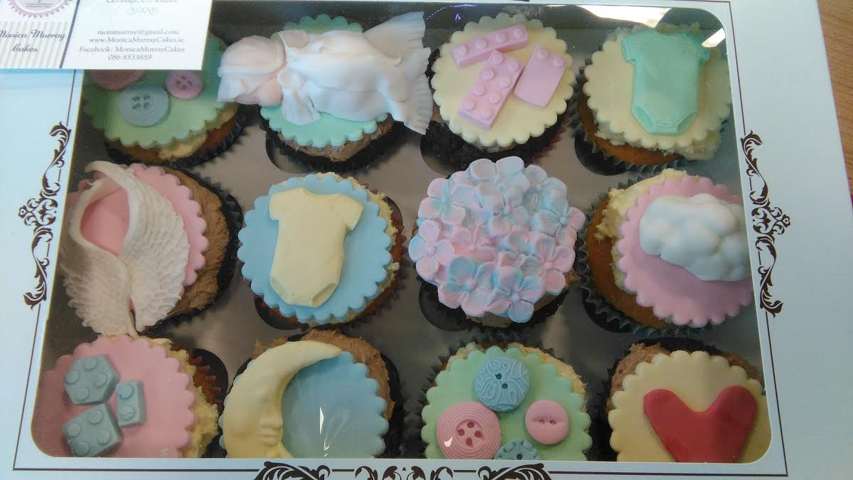 Christening fairy cakes