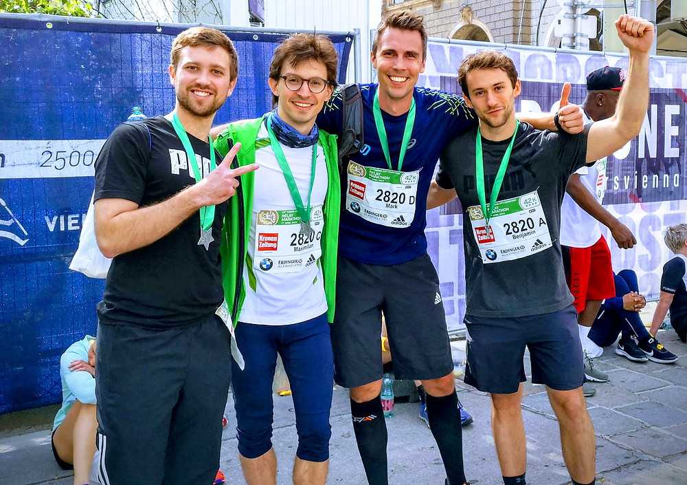 Novasign, known for fast bioprocess development, finishes the Vienna City Marathon (VCM)