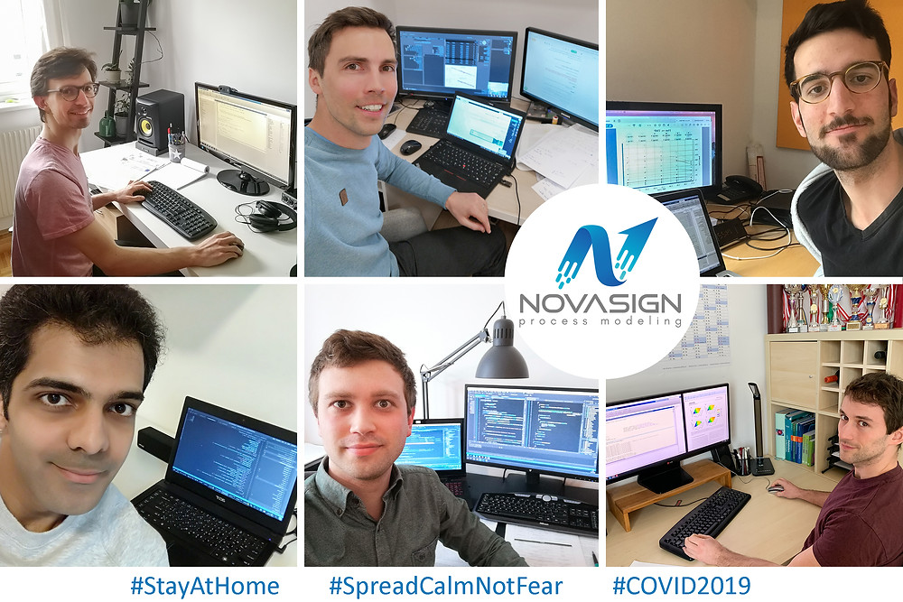 Home office due to COVID-19 with new release of hybrid modeling software for fast bioprocess development and better process data analytics