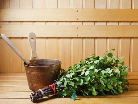 Z čeho je a k čemu slouží metla do sauny?