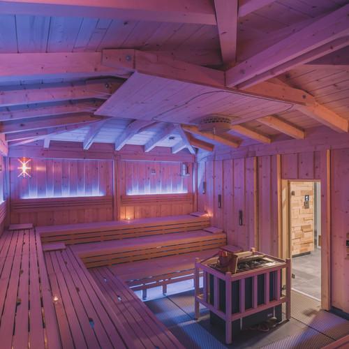 Finská ceremoniální sauna